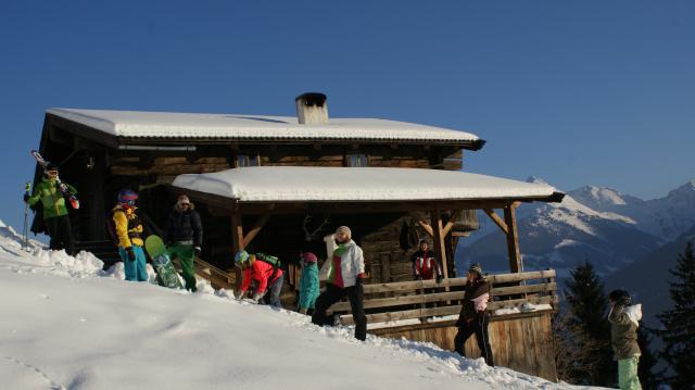 Ferienhaus Alpbach Räumlichkeiten
