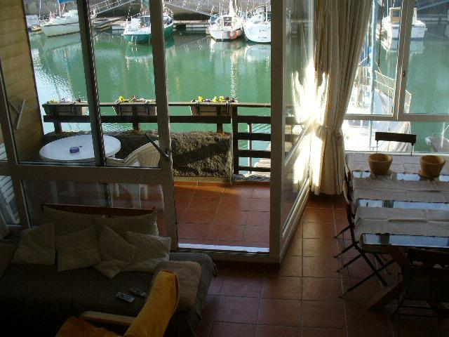 duplex marina Deauville 3 *** - Vacation Apartment Living Room