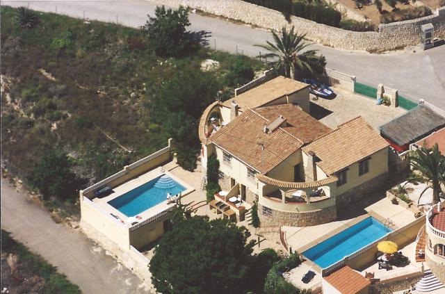 Ferienhaus Calpe / Alicante Schlafzimmer