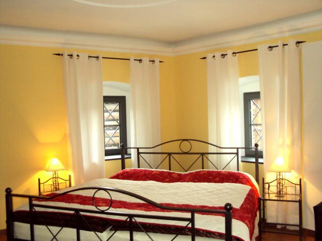 Vacation Home Castrisch Bedroom