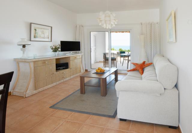 Rekreační apartmán San Carlos / Ibiza Obývací pokoj
