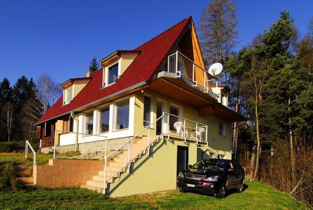 Casa de férias Landstejn Pomezi Ambiente