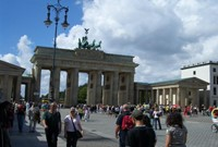 BERLIN Brandenburg Gate Tor MITTE