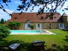 La Ferme mit privatem Pool - Ferienhaus St Laurent la Vallée