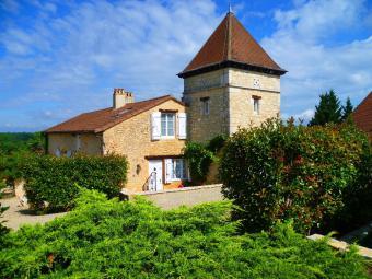 Maison du Vigneron mit Pool