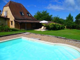 Maison du Jardinier mit Pool