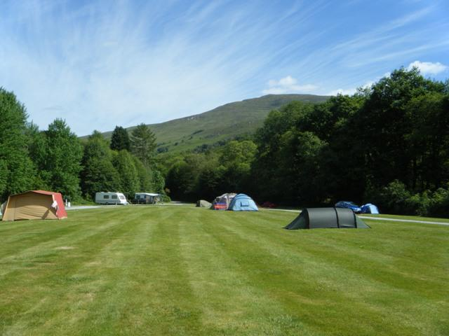 Camping Site Inverness-shire Surrounding