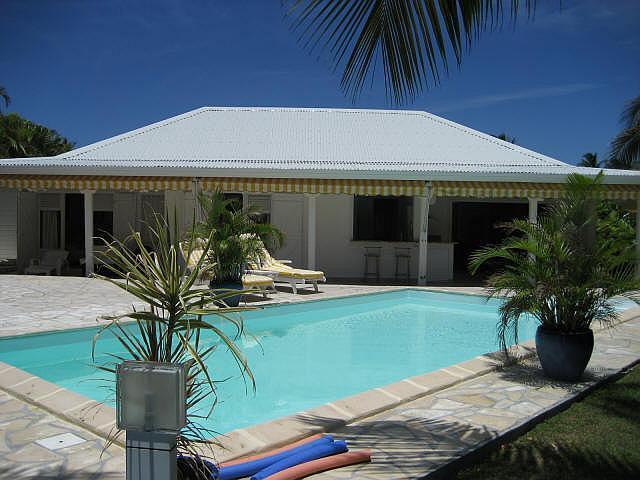 Ferienhaus SAINT FRANCOIS Gartenanlage