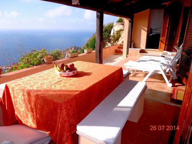 Casa per le vacanze trinità d'agultu e vignola Giardino