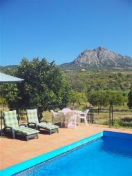 Ferienhaus mit privatem Pool