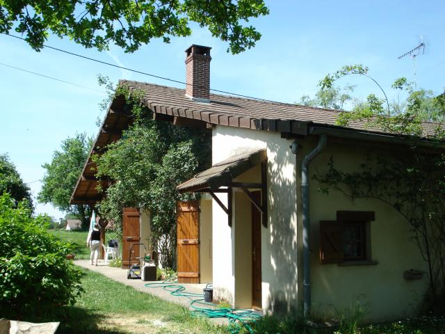 Feriehus Romenay (Mâcon-Chalon) Bad & Toilet