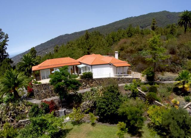 Maison de vacances Tijarafe Jardin