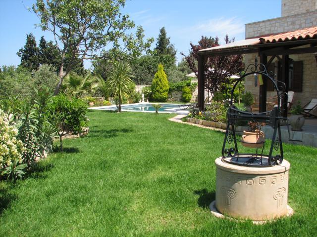 Casa de vacaciones Rethymnon Jardín