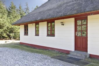 Sommerhaus mit Strohdach