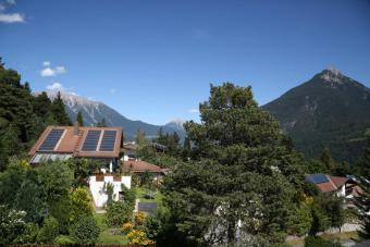 Haus Florian Balkon