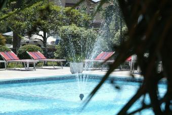 monolocale con piscina