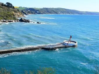 Masionette über dem Meer