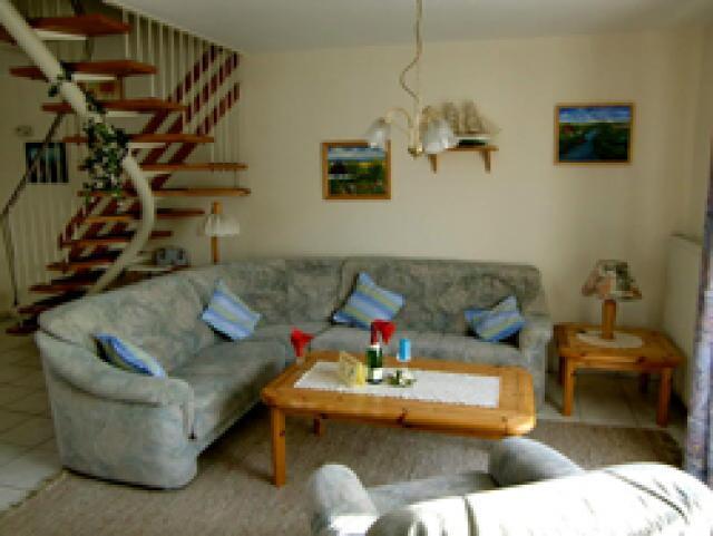 Ferienhaus Neßmersiel Wohnzimmer
