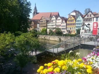 Übernachtung in Tübingen