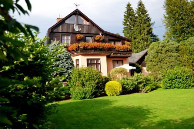 Ferienhaus Harrachov Räumlichkeiten